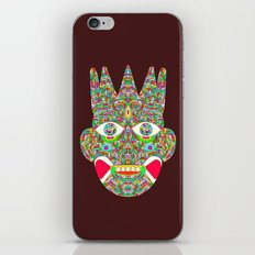 The Psychedelic Daemon iPhone & iPod Skin