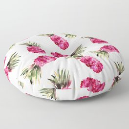 Pink Pineapples Floor Pillow
