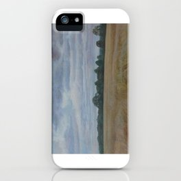 Windy day in Trent Park iPhone Case