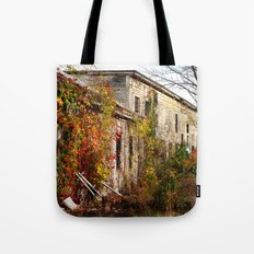 Somewhere in Rhode Island - Abandoned Mill 001  Tote Bag