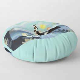 Mermaid Concert Floor Pillow