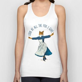 Look At All The Fox I Give - I Unisex Tank Top