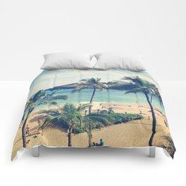 Hanauma Bay Comforters