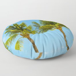 Palm Trees Pt. 2 Floor Pillow