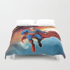Hero in Space Duvet Cover