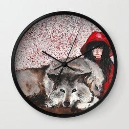 Caperucita Roja y el Lobo Wall Clock