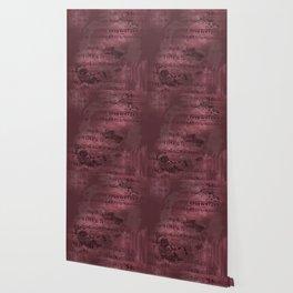 Sheet Music - Mixed Media Partiture #3 Wallpaper