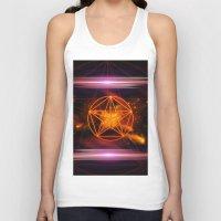 pentagram Tank Tops featuring Pentagram  by nicky2342