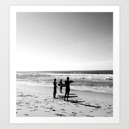 Three Amigos, Surf Art Print