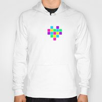 edm Hoodies featuring I heart EDM by ihearteverything