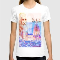 code T-shirts featuring Code Leonardo  by Joe Ganech