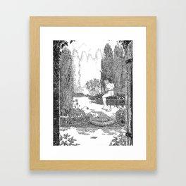 Le Jardin Secret Framed Art Print