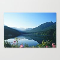 vancouver Canvas Prints featuring Vancouver by Iman B.