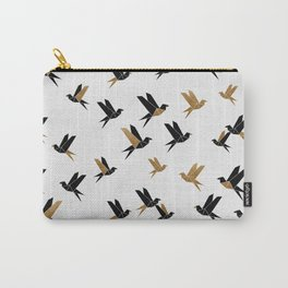 Origami Birds Collage II, Bird Decor Carry-All Pouch