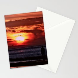 As the Sun goes down Stationery Cards