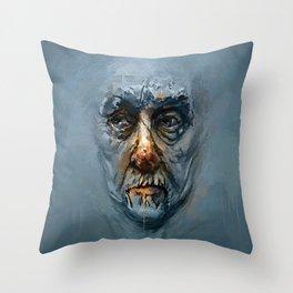 Faceless Throw Pillow