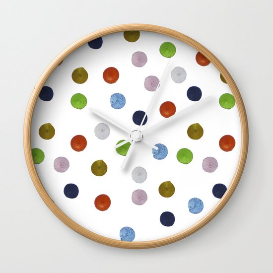 Pinpoint Dots Wall Clock