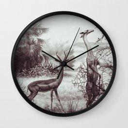 Gerenuk Wall Clock