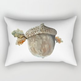Fall acorn and oak leaves Rectangular Pillow