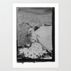 SEAGURL Art Print