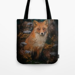 The Fox In The Forest Tote Bag