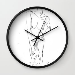 nude study 2016-05-06 Wall Clock