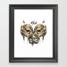 ZOMBIE IMPERIAL TROOPER  Framed Art Print
