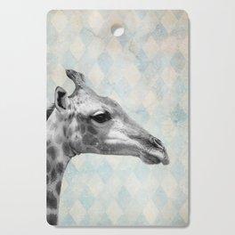 Retro Giraffe Cutting Board