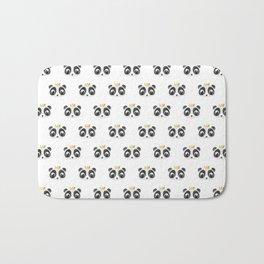 Panda King [Pattern] Bath Mat