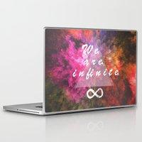 infinite Laptop & iPad Skins featuring Infinite by MJ Mor