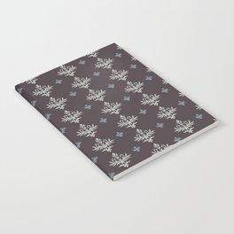 Victorian Brown Pattern Notebook