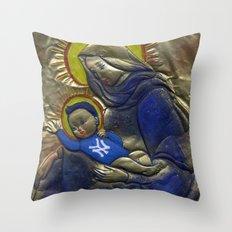 Jesus Was A Yankee's Fan Throw Pillow