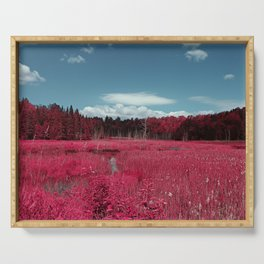 Infrared  by Jean-François Dupuis Serving Tray