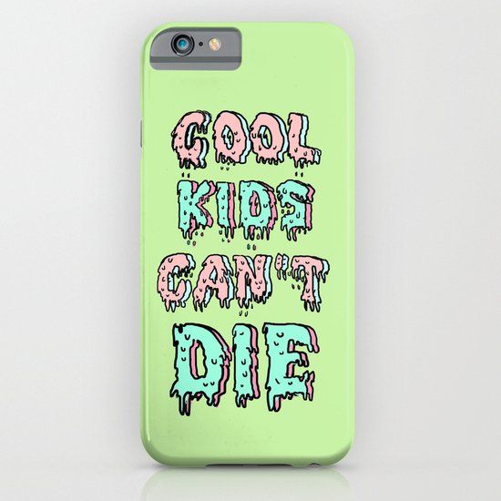 cool kids cant die iPhone & iPod Case