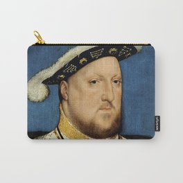 "Hans Holbein the Younger ""Portrait of Henry VIII of England"" Carry-All Pouch"