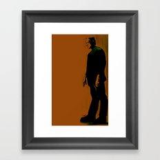The Monster Is Loose! Framed Art Print