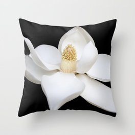 """HOME DECOR,""""Wake Up and Smell the Lilies"""",Black,White,Pillows,Wall Tapestries,ART prints,Wall Art Throw Pillow"""