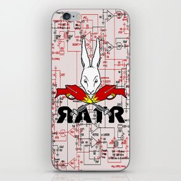 Crossed Rayguns iPhone Skin