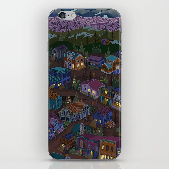 Adventure Town iPhone & iPod Skin