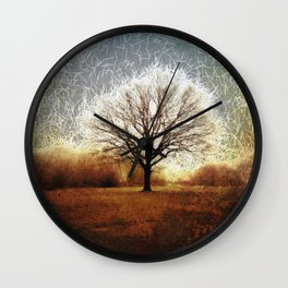 Winter Tree on Tooting Common Wall Clock