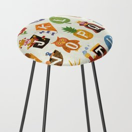 Alphabet Counter Stool