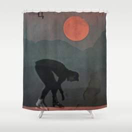 you no longer had to be careful Shower Curtain