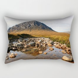 Buchaille Etive Mor Mountan Glencoe Scotland Rectangular Pillow
