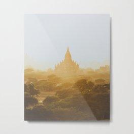 Bagan Temples II Metal Print