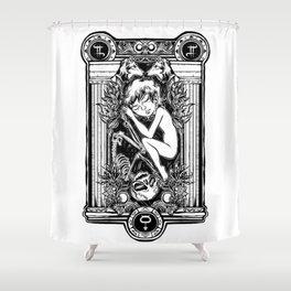 EROS & THANATHOS Shower Curtain