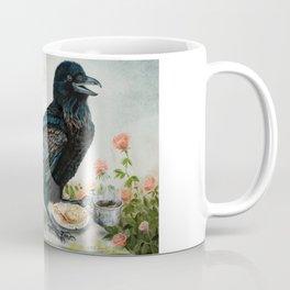 Breakfast With the Raven Coffee Mug