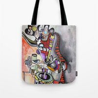 technology Tote Bags featuring Technology System1 by infloence