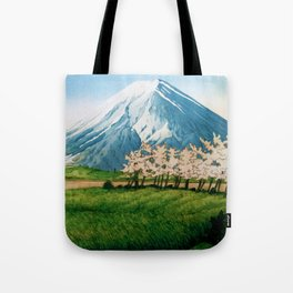 Resting before the Climb Tote Bag