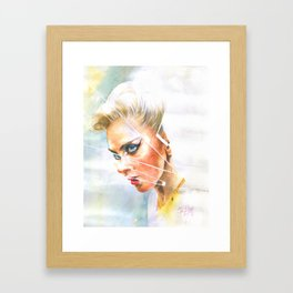 Perfect Illusion Framed Art Print
