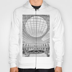 The Corn Exchange Interior In Monochrome Hoody